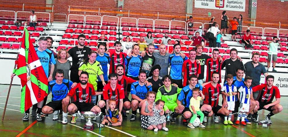 Buenetxea y Patricio se disputan hoy el XXXV Torneo de local de futsala