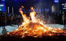 Noche mágica de San Juan en Andoain