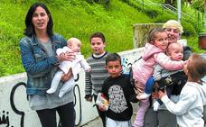 «Tenemos seis hijos pero todavía no hemos cerrado la puerta a tener más»