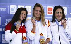 La natación se despide y afianza a España en el segundo puesto del medallero