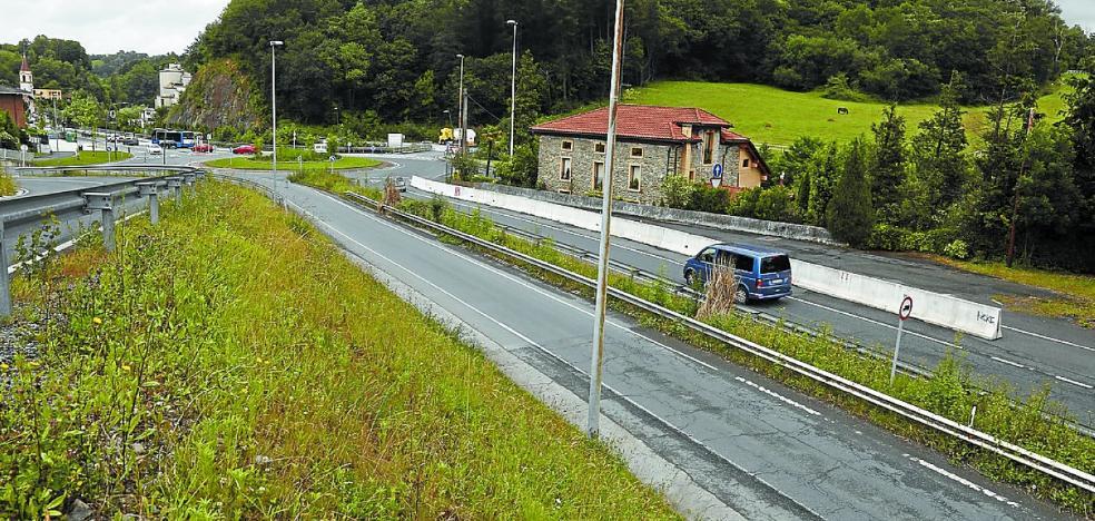 La boulevarización de Añorga se completará en 2019 con un proyecto redimensionado