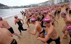 Aguas abiertas: Arranca la temporada de travesías a nado en Euskadi