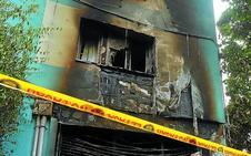 Un cable en mal estado del local de jóvenes provocó el incendio de Intxaurrondo