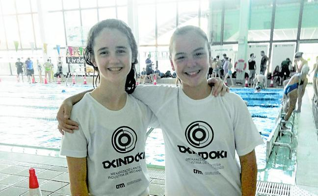 Excelentes cronos de Leire Berbel y Amaiur Mariezkurrena en Azpeitia
