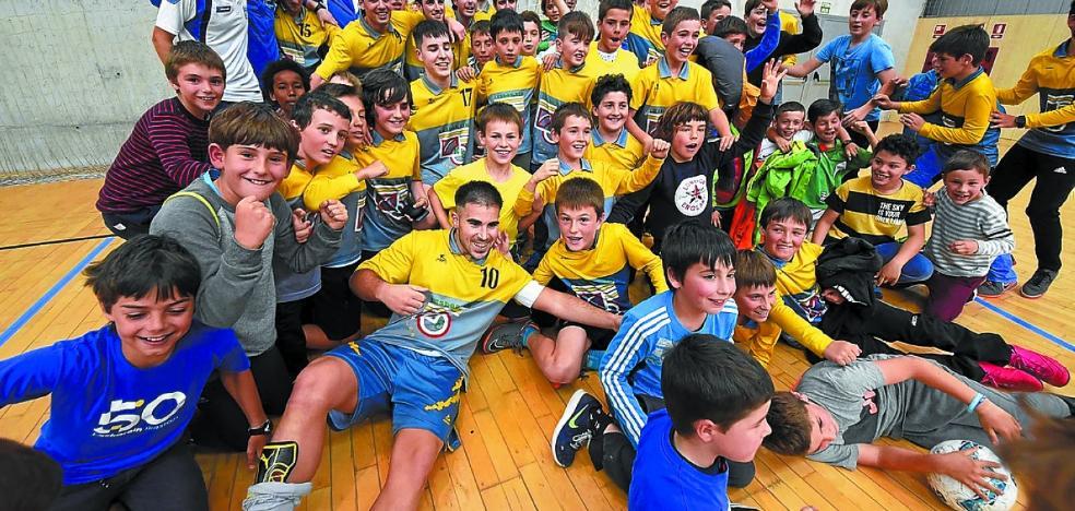 Laskorain jugará en la Segunda B de fútbol sala la próxima temporada