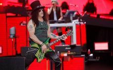 Guns N'Roses intenta sobreponerse en Madrid al espejismo y la leyenda