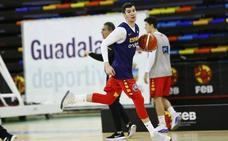 Darío Brizuela, convocado para el partido de España frente a Bielorrusia