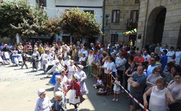Euskal Jaia para cerrar los sanpedros