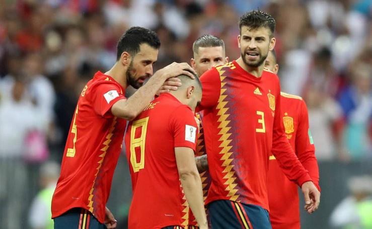 España-Rusia, en imágenes