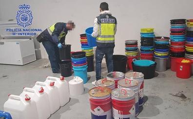 Desarticulada una red internacional de droga que tenía un laboratorio en Irun