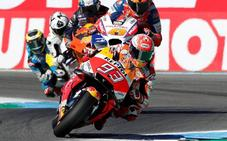Márquez gana una inolvidable carrera en Assen