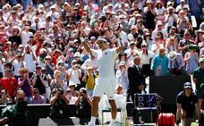Federer supera a Connors en partidos disputados en Wimbledon