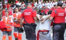 Un estudio revela que en San Fermín no hay más delitos sexuales que en otras fiestas