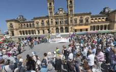 Los pensionistas guipuzcoanos se concentran un lunes más y debaten si mantienen en verano la movilización semanal