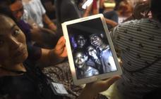 Localizados con vida los desaparecidos hace más de una semana en una cueva de Tailandia