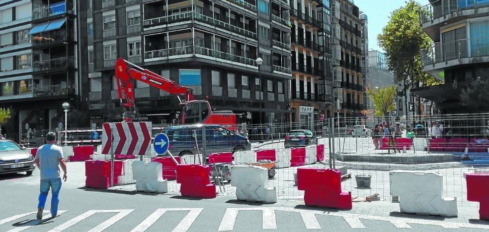 El cruce Avenida-Urbieta se abre el viernes tras dos meses de obras