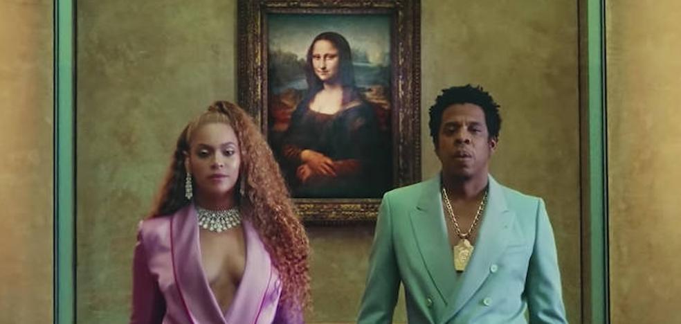 Beyoncé y Jay-Z, guías del Louvre