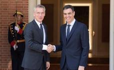 Sánchez subraya que no sólo se contribuye a la OTAN en porcentaje de gasto
