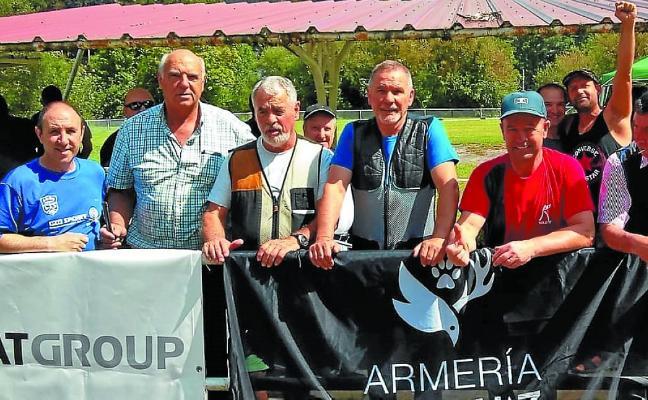 80 participantes en la tirada de codorniz a jaula de Orión
