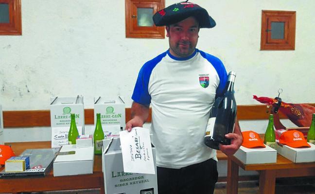 Urtzi Oyarbide fue el ganador del VI Gran Premio Compak Sporting