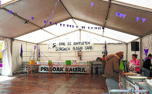 Convocatoria abierta para gestionar la txosna en Santikutz Txikis