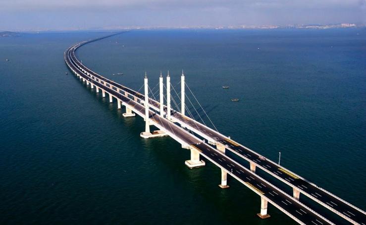 Los 7 puentes más largos del mundo