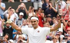 Federer encuentra el ritmo al segundo partido