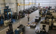 La actividad industrial de Euskadi subió un 2,2% en mayo