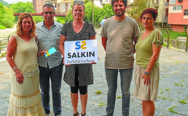 Naiara Lasarte diseña el nuevo logotipo de la asociación Salkin