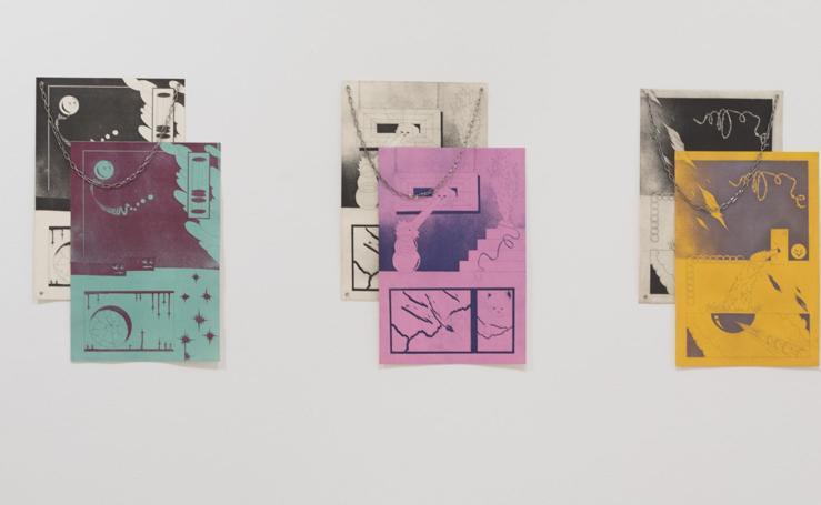 Jóvenes artistas exponen en Donostia