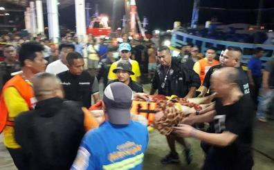 Desaparecidas cerca de 50 personas tras el naufragio de dos embarcaciones en Tailandia
