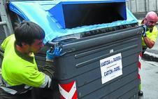 Intxaurrondo y Amara estrenan la nueva reordenación de contenedores