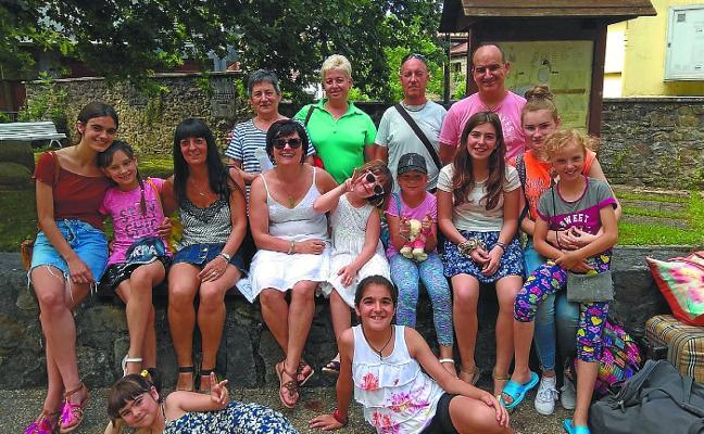 Cuatro niñas bielorrusas pasarán el verano en Goierri