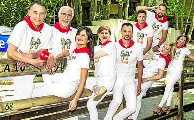 TVE despliega 27 cámaras en San Fermín para llevar a casa los encierros