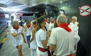Donostia, escala para los Sanfermines