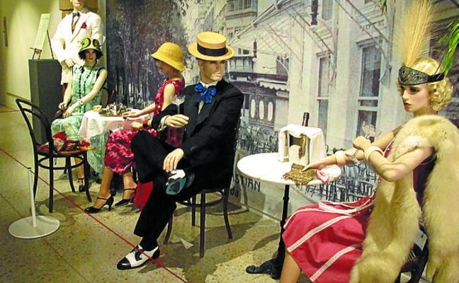 El Centro del Traje inaugura una exposición de la Donostia de 1900