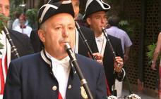 El txistulari Iñaki Letamendía homenajeado por sus 50 años en Sanfermines