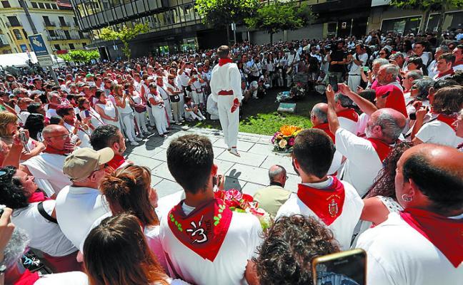 Una marcha exige «justicia y reparación» por la carga policial de los Sanfermines de 1978