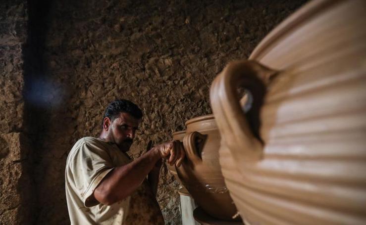 Cerámica tradicional en Siria