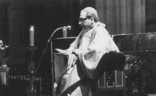 Setién, dos décadas al frente de la diócesis donostiarra