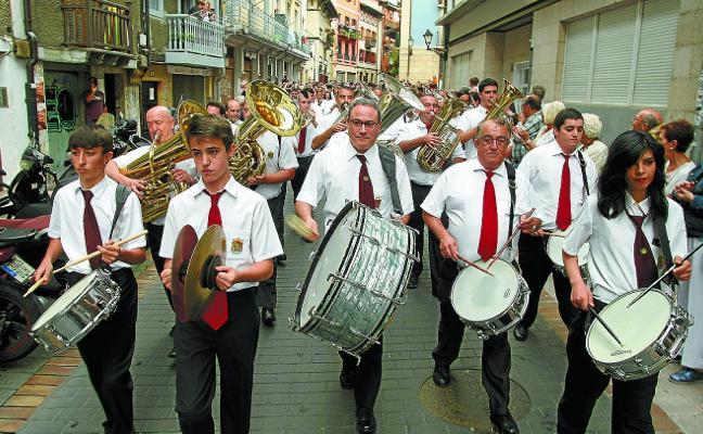 El Ayuntamiento de Iruña homenajea este jueves a la Banda de Errenteria