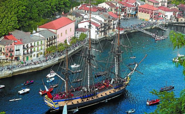 La presencia de 'L'Hermione' en el Festival Marítimo costó 105.000 euros