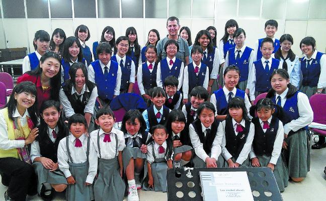 El compositor Xabier Sarasola, solicitado otra vez desde el país nipón