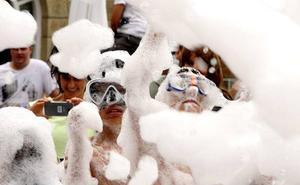 El Ayuntamiento autorizará fiestas de espuma y pompas de jabón