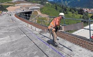 Construidos los cinco viaductos de la autovía de Deskarga