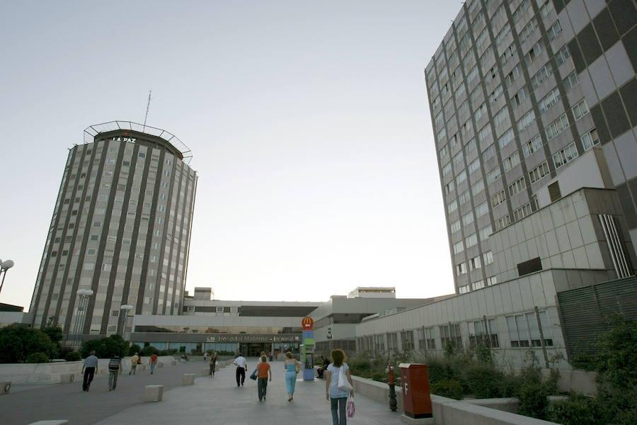 Hallan el cadáver de un hombre en el hueco de un ascensor del Hospital de La Paz de Madrid