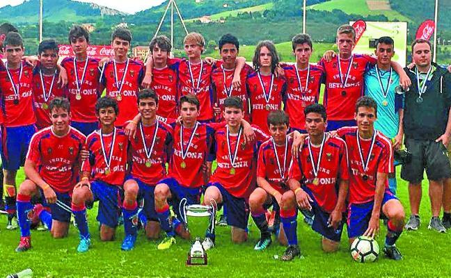 Los cadetes del Beti Ona rozan el título de la Donosti Cup