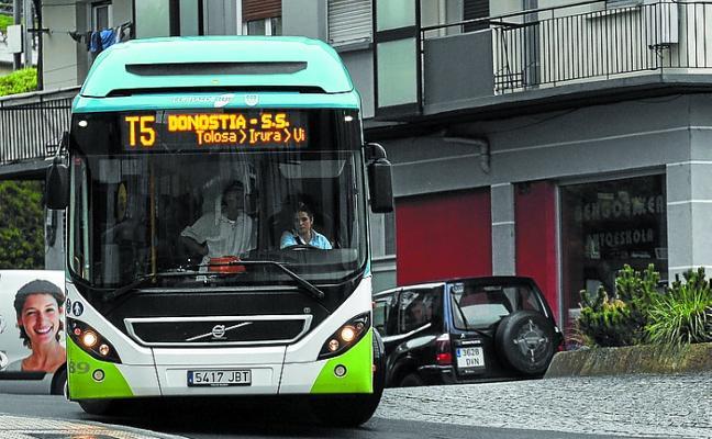 Diputación aprueba las nuevas líneas de Lurraldebus entre Tolosa y San Sebastián