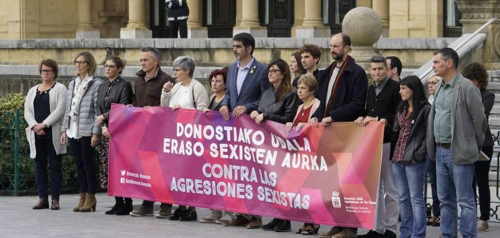 Bajan de 12 a 4 las denuncias por agresión sexual en Donostia