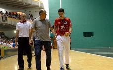 Jokin Altuna deja el Torneo San Fermín por una lumbalgia